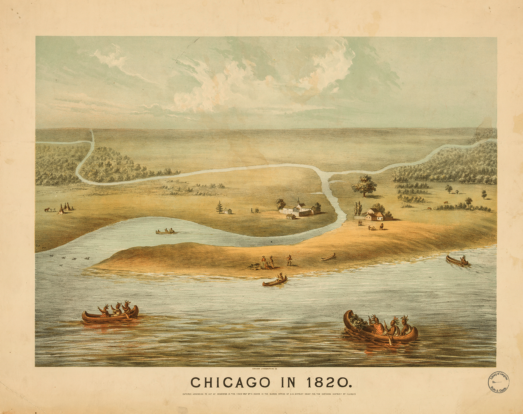 chicago_in_1820